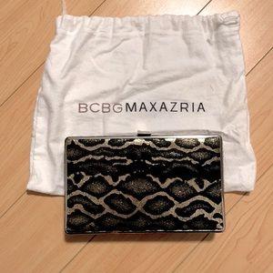 BCBG Max Azria Leopard Clutch